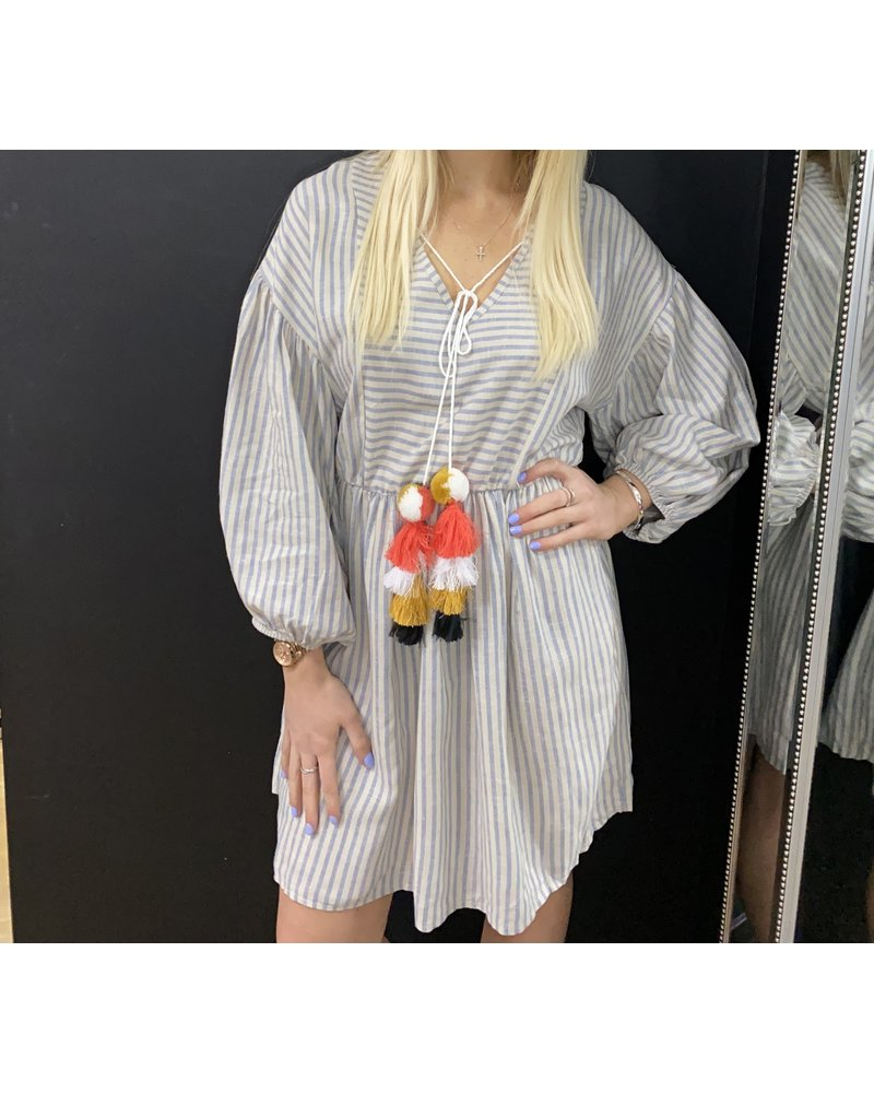 Sandra striped summer dress