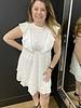 Cosima broderie anglais dress