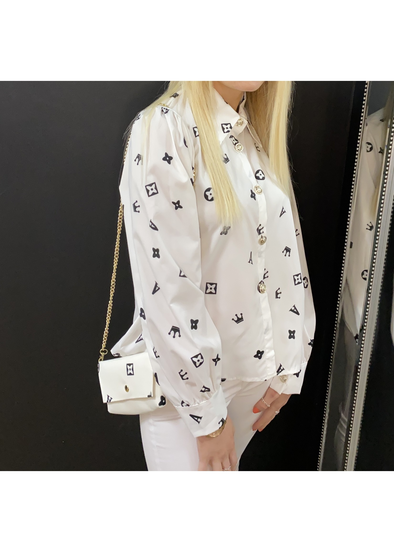 Eloise shirt with matching bag