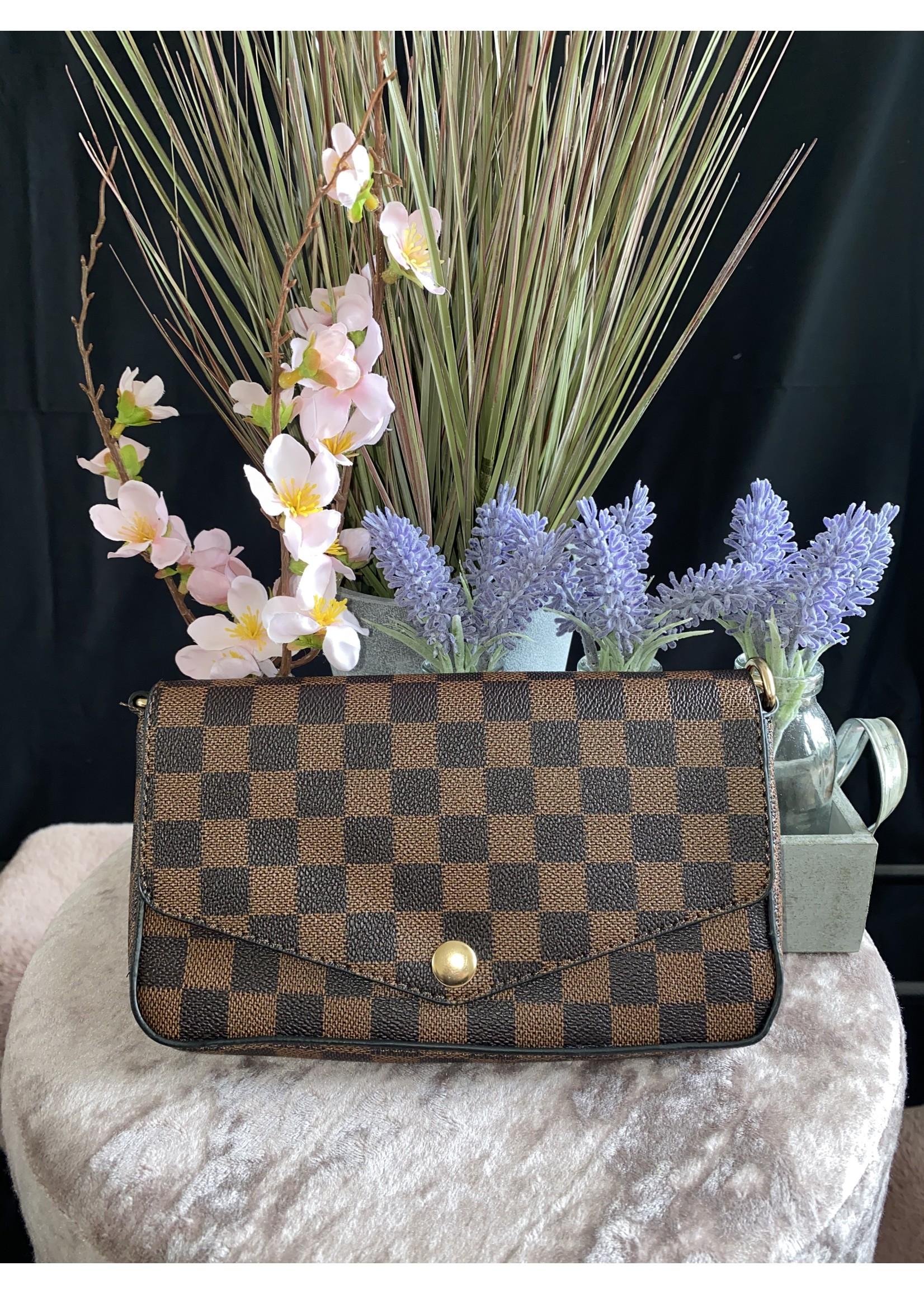 Luciana gold chain bag