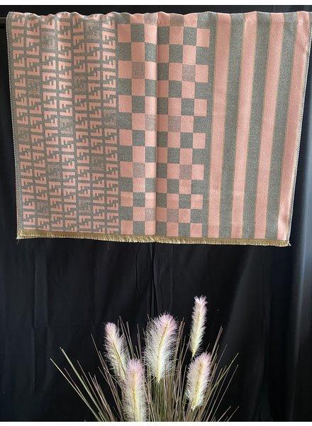 FF check scarf