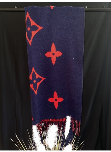 Lucia large print scarf