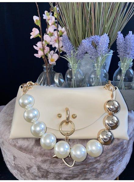 Pearl mini bag with chain