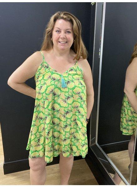 Annie trapeze short dress