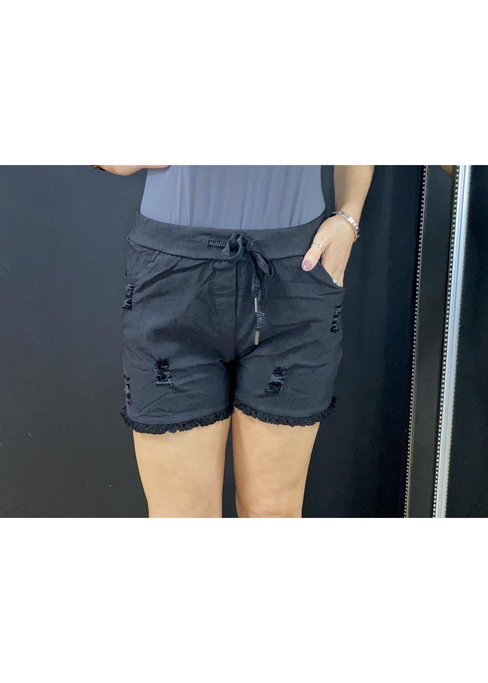 Magic shorts - rip detail