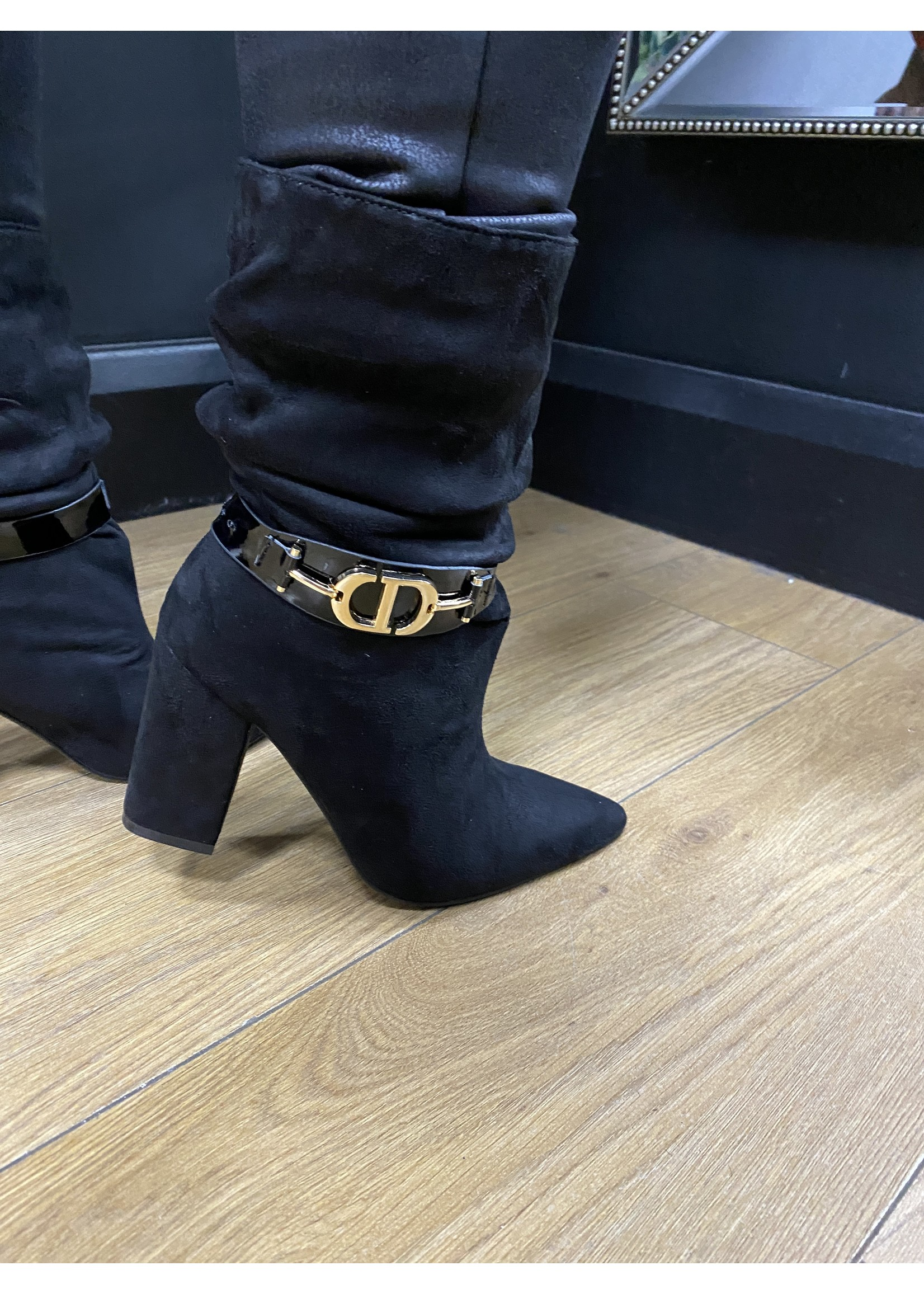 Chrissy ruched boots