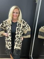 Fliss leopard  Jacket