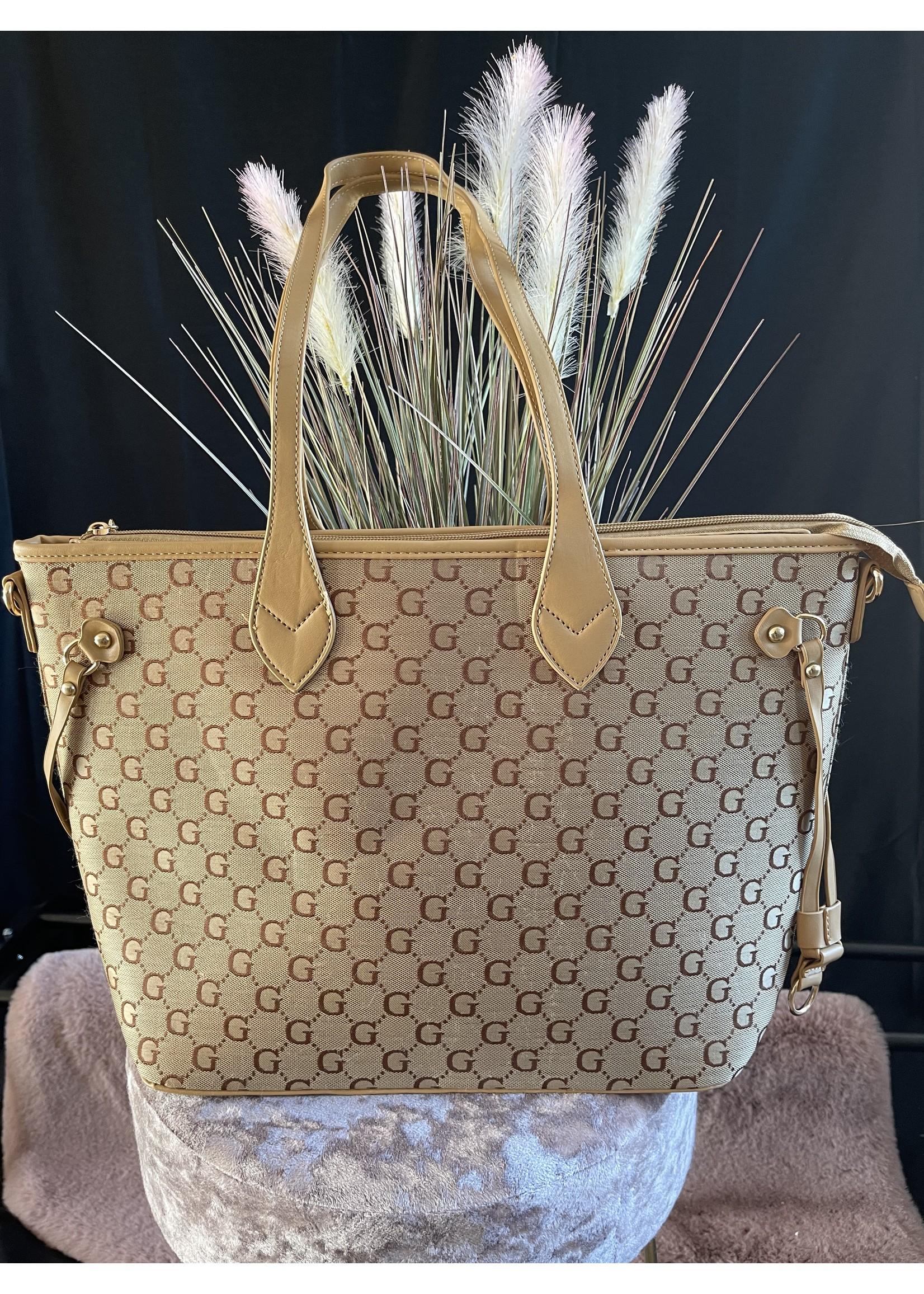 Gina Shopper Bag & Pouchette set