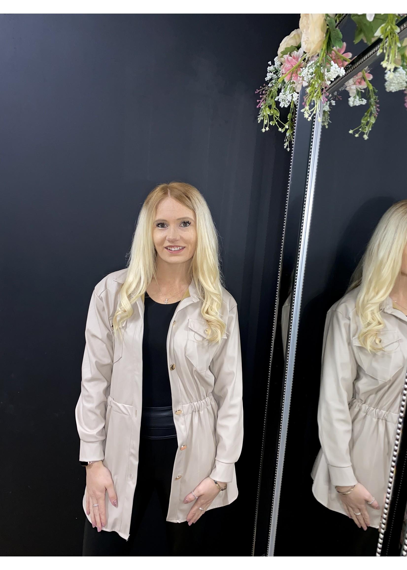 Fifi faux leather jacket