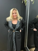 Chesca belted coat