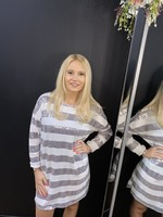 Melody sequin jumper dress