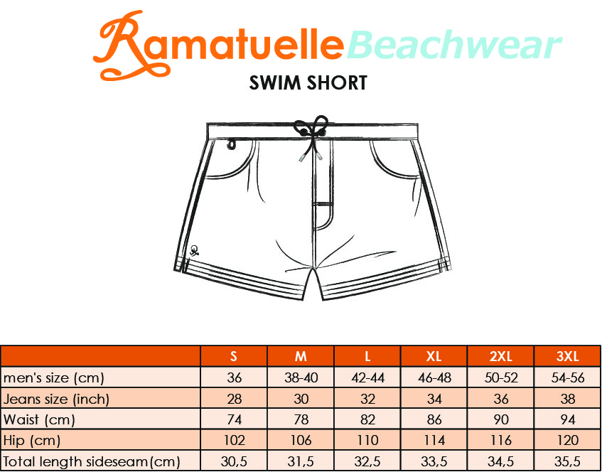 Size Chart Short