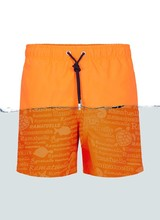 Magic Jungens Badehose | Fluor Orange