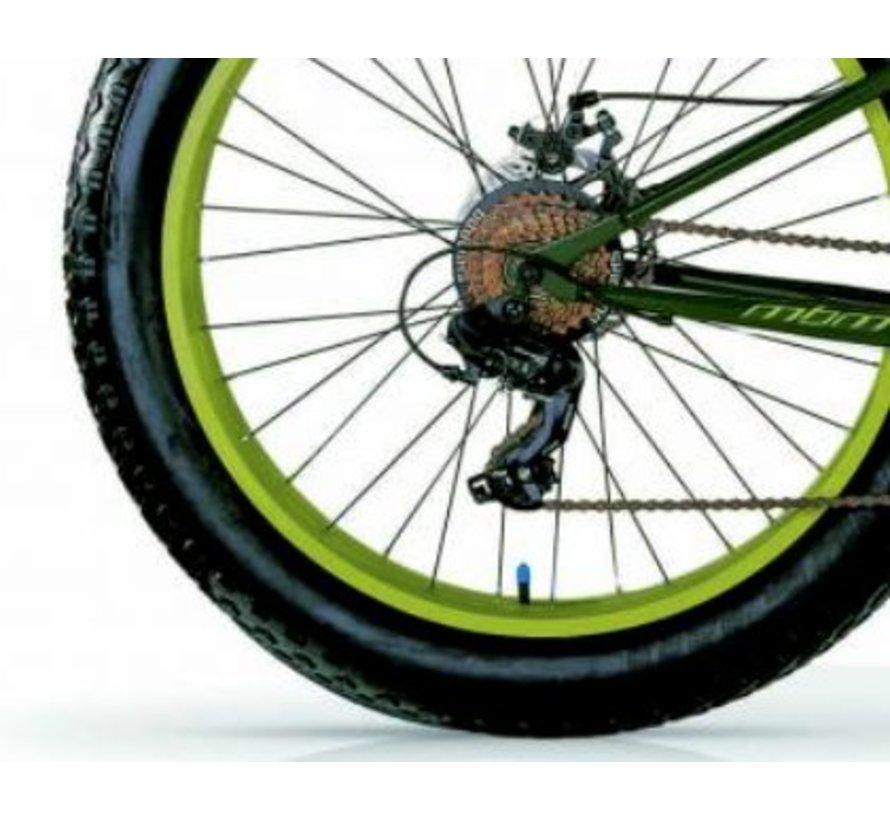 Machine Groen of Zwart 44cm