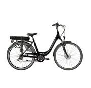 Hollandia E-Street E-bike D6 D49 in zwart of blauw