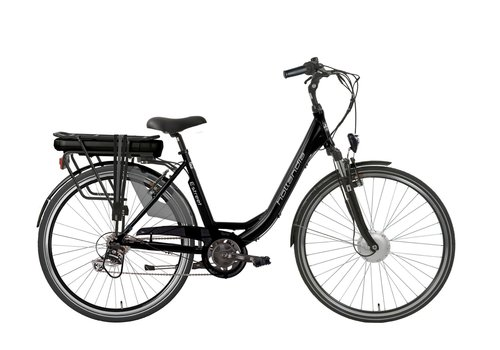Hollandia E-Street E-bike D6 D49 in zwart of blauw