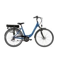 E-Street E-bike D6 D49 in zwart of blauw