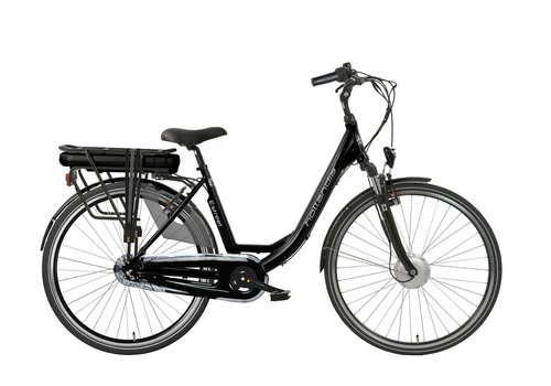 Hollandia E-street E-bike N3 D49 in zwart of blauw