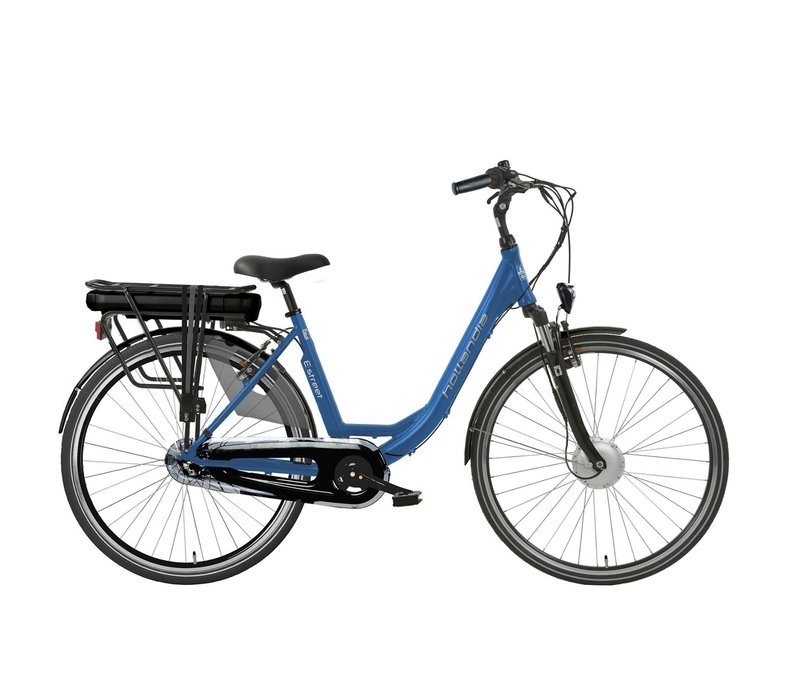 E-street E-bike N3 D49 in zwart of blauw