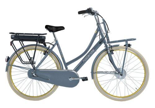 Hollandia Royal Ride E3 E-bike D53 in staalblauw, donkerblauw of zwart