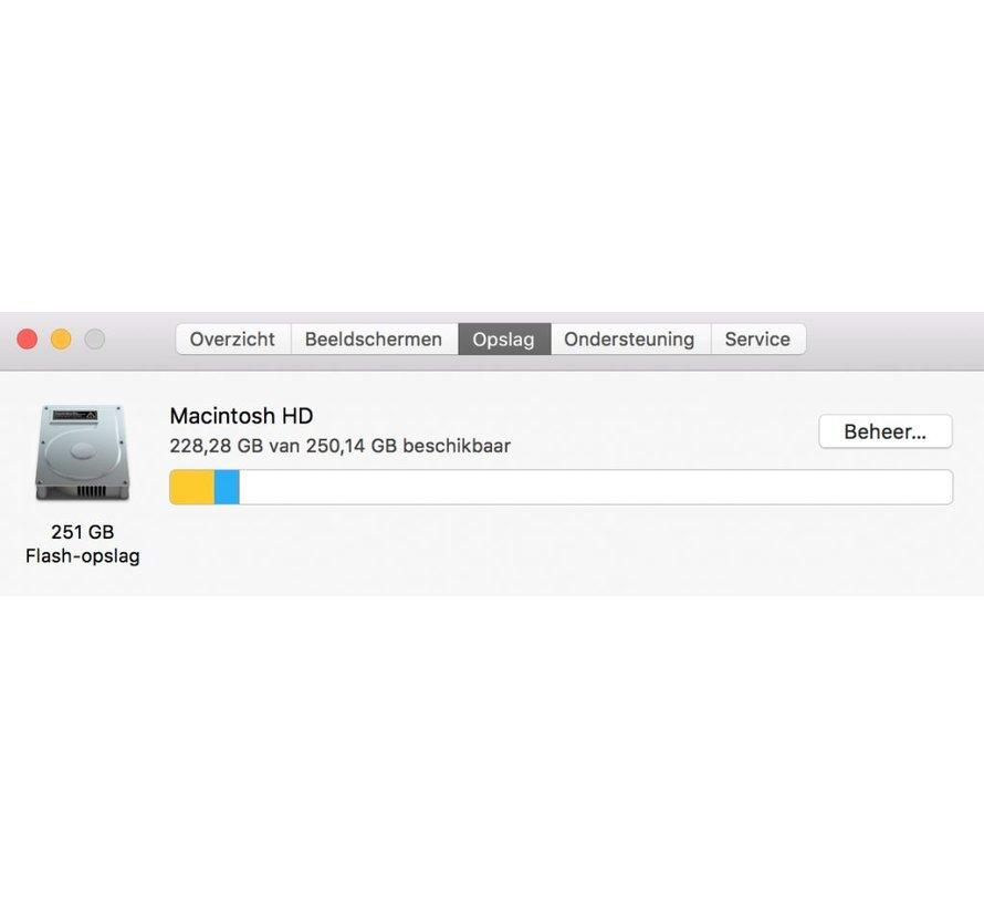 Macbook Pro 15'' Late 2016 2,6 GHz i7 16GB 256GB Flash Apple Care  - Zilver