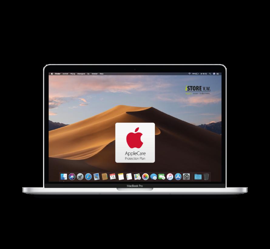 Macbook Pro 13'' Mid 2017 3,1 GHz i5 16GB 256GB Flash Apple Care - Zilver