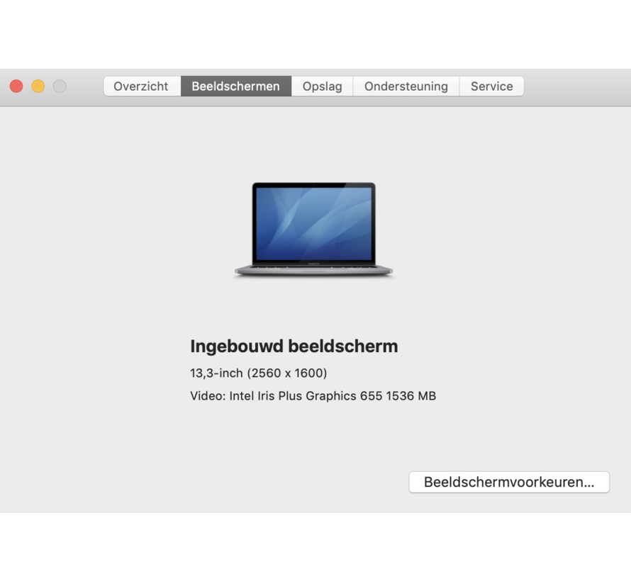 Macbook Pro 13'' Mid 2018 2,3 GHz i5 8GB 256GB Flash - Space Grey