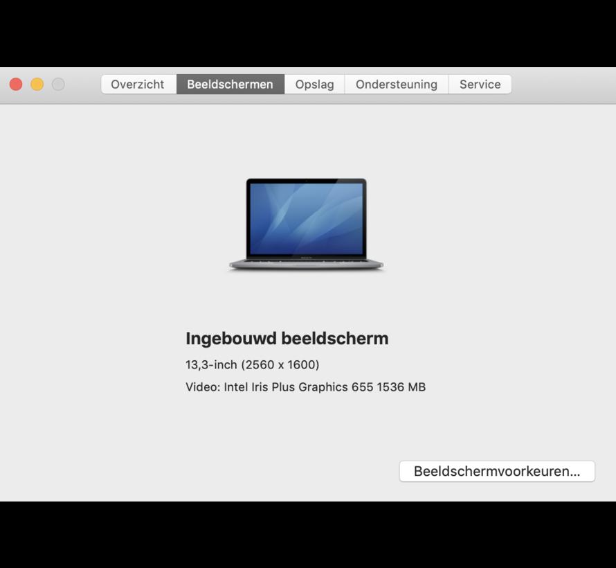 Macbook Pro 13'' Mid 2018 2,3 GHz i5 16 GB 512GB Flash Apple Care - Space Grijs