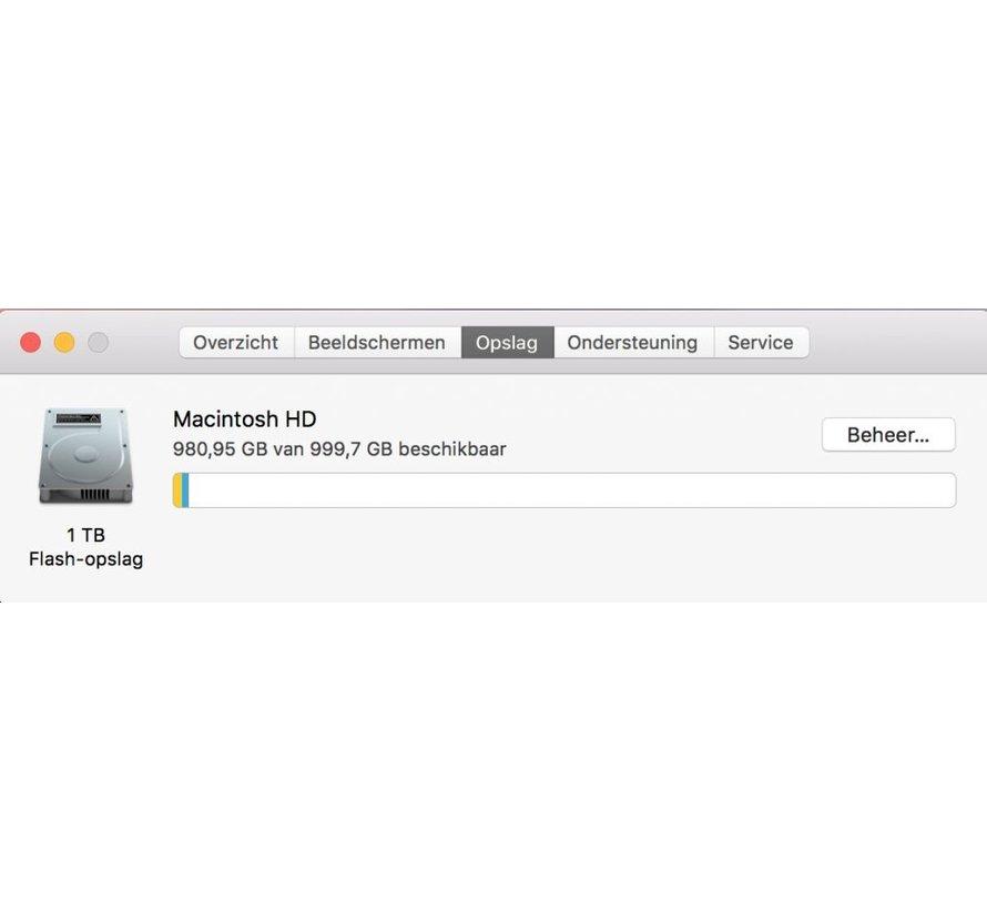 Macbook Pro 15'' Mid 2015 IG 2,2 GHz i7 16GB 1 TB Flash