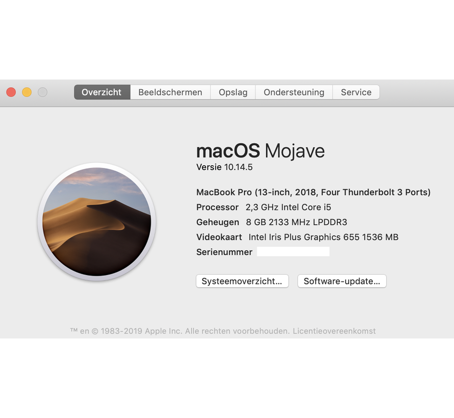 Macbook Pro 13'' Mid 2018 TouchBar