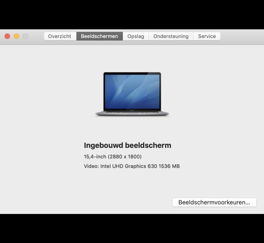 Macbook Pro 15'' 2018 TouchBar