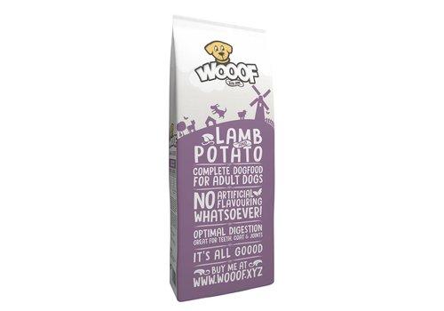 Hundefutter - WOOOF WOOOF  Lamm & Kartoffel