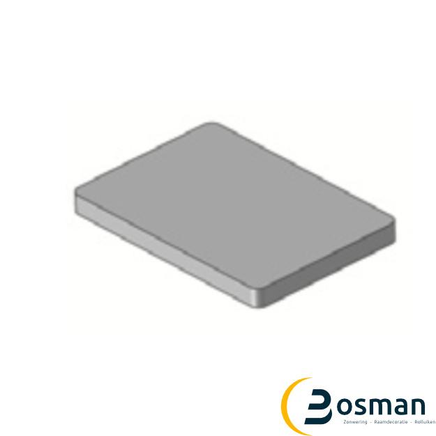 Luxaflex Metaalplaat voor magneet