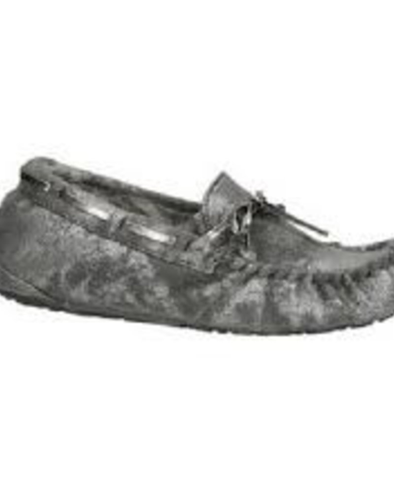 Ruby Brown Mocassin 6825 zilver