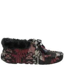 Ruby Brown Mocassin bootie 3831 zw/ro