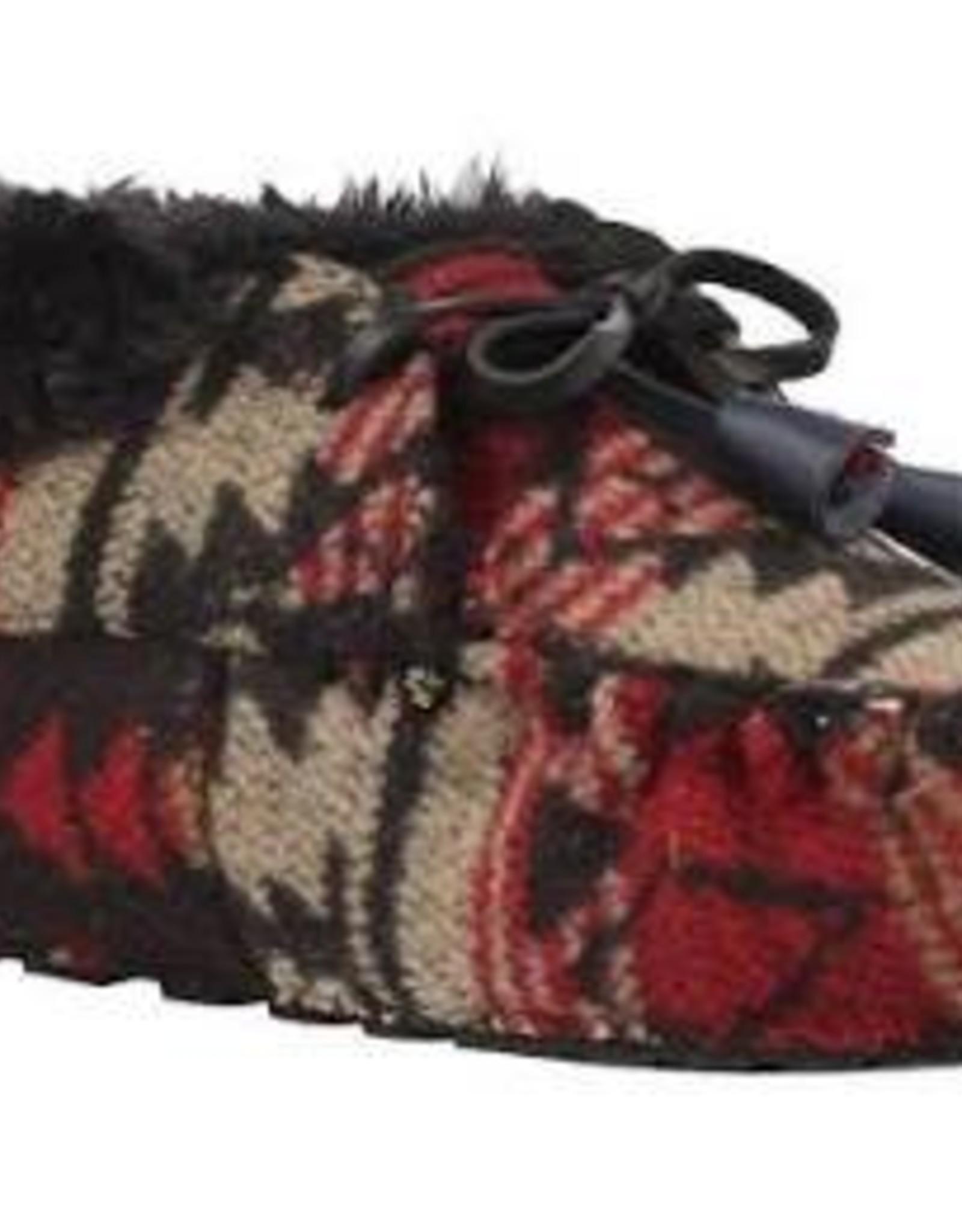 Ruby Brown Mocassin bootie 3831 zwart/rood -/-30%