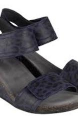 Ca'Shott 13011 leopard blauw/zwart