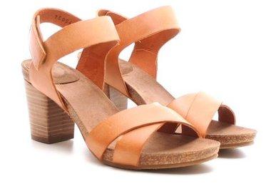 Sandalen met hak