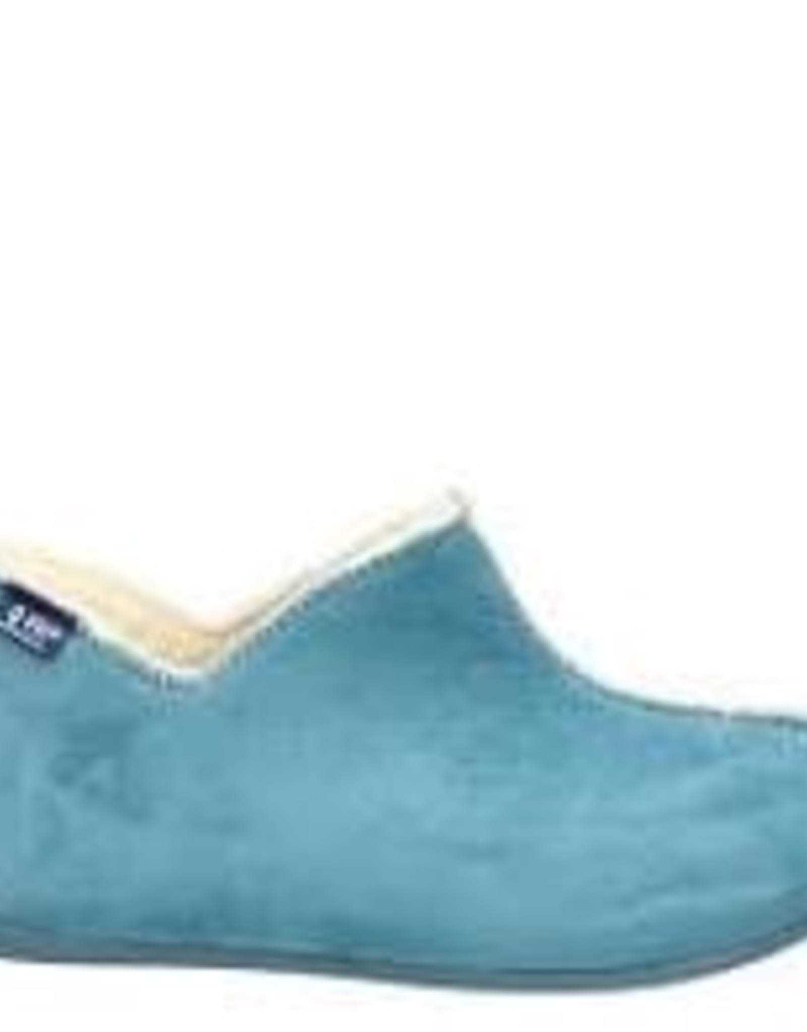 Q-Fit Home Shoes Madrid licht blauw