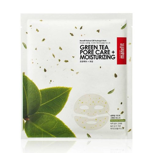 Manefit Natural Gift Green Tea Pore Care Sheet Mask