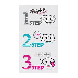 Holika Holika Pig Nose Clear Black Head 3 Step Kit No Water