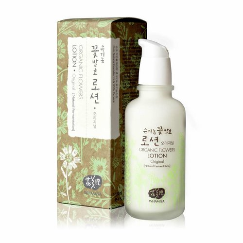 Whamisa Organic Flowers Lotion Original