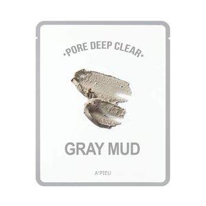 A'pieu Pore Deep Clear Gray Mud Mask