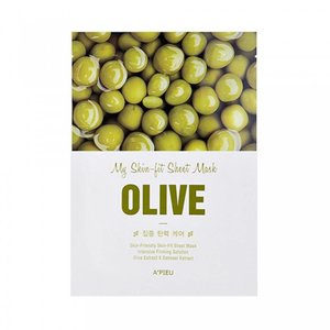 A'pieu My Skin Olive Fit Sheet Mask