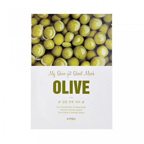 A'pieu My Skin Olive Fit Sheet Mask