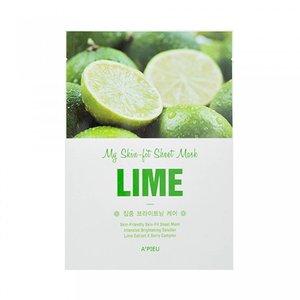 A'pieu My Skin Lime Fit Sheet Mask