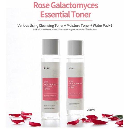 iUNIK Rose Galactomyces Essential Toner