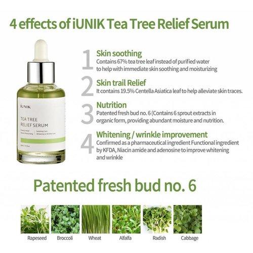 iUNIK Tea Tree Relief Serum