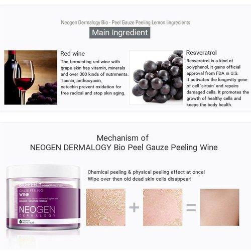 Neogen Dermalogy - Bio-Peel Gauze Peeling Wine