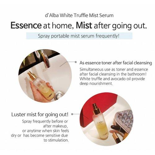 d'Alba White truffle Mist Serum
